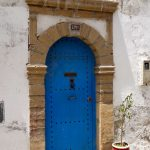 Essaouira blue door