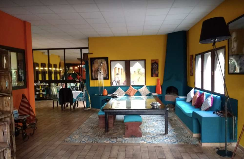 les jardins de gueliz restaurant marrakech