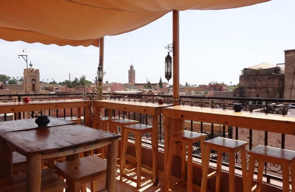 cafe fnaque berbere marrakech