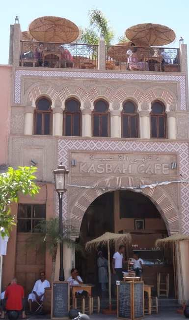 kasbah cafe marrakech