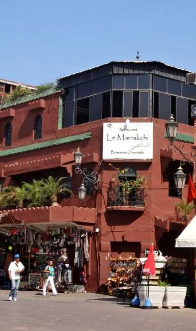 le marrakchi restaurant