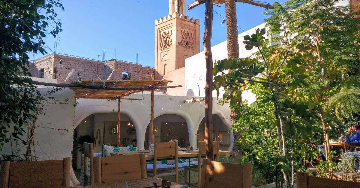 La famille restaurant marrakech marrakech riad gorgeous for Restaurant jardin marrakech