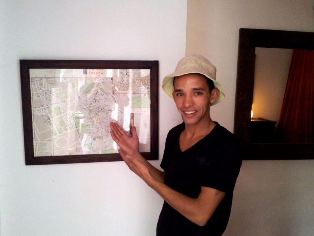 marrakech riad map class