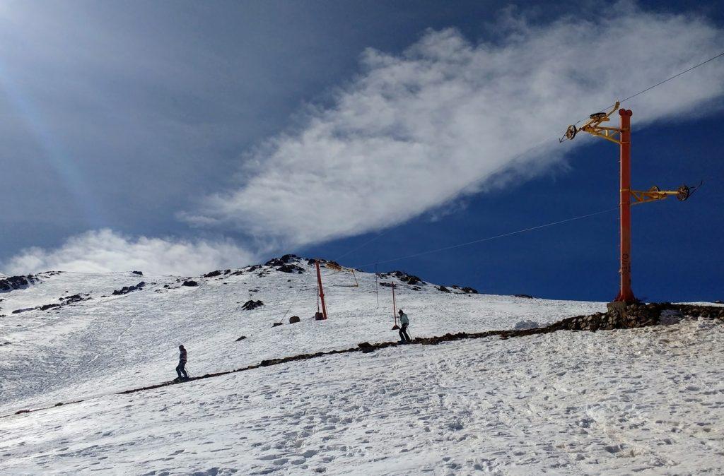marrakech excursion to ski oukaimden