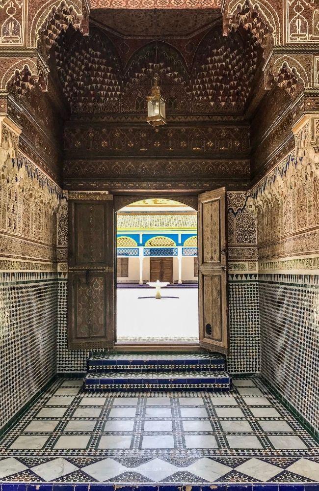 palais bahia marrakesh