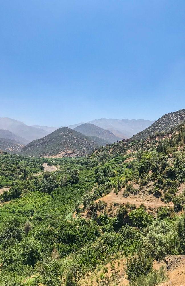 asni valley atlas mountains
