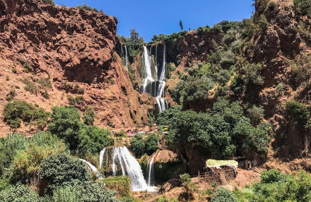 Cascade d Ouzoud - Ouzoud Falls