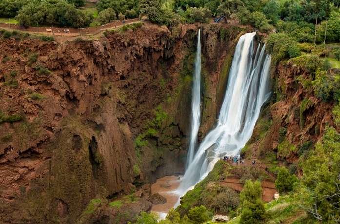 cascades ouzoud waterfalls