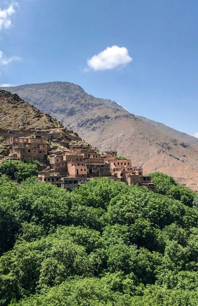 imlil berber village atlas mountains
