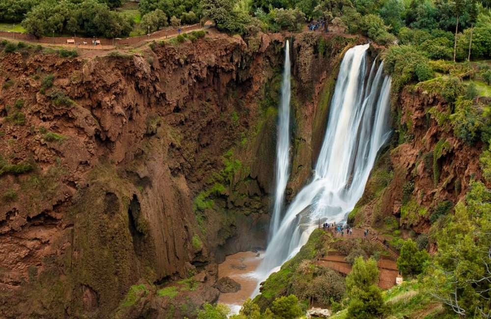 ouzoud waterfalls cascades