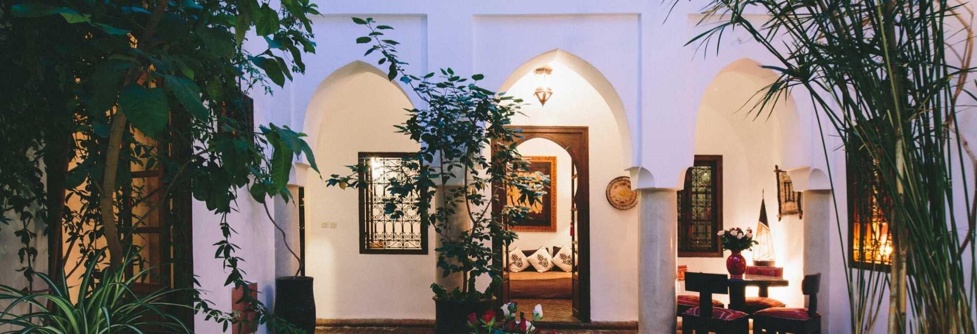 riad marrakech courtyard