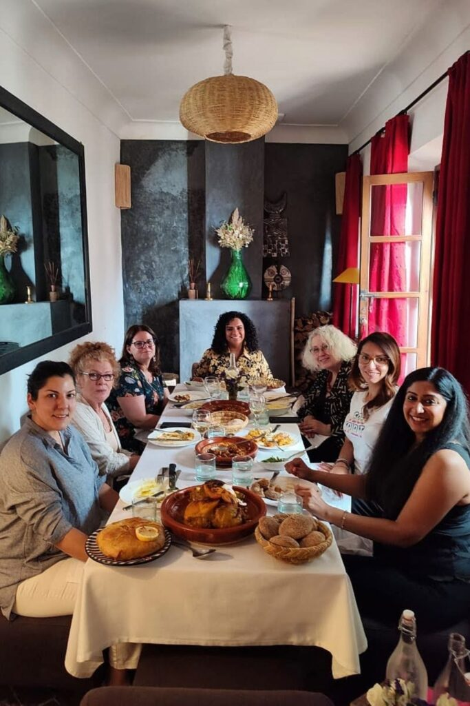 lunch party marrakech riad