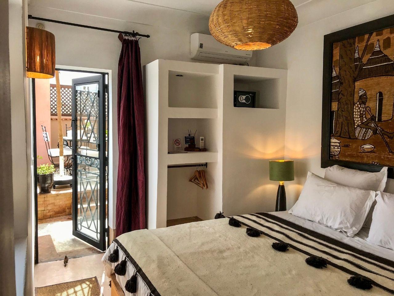 marrakech riad sun terrace double room