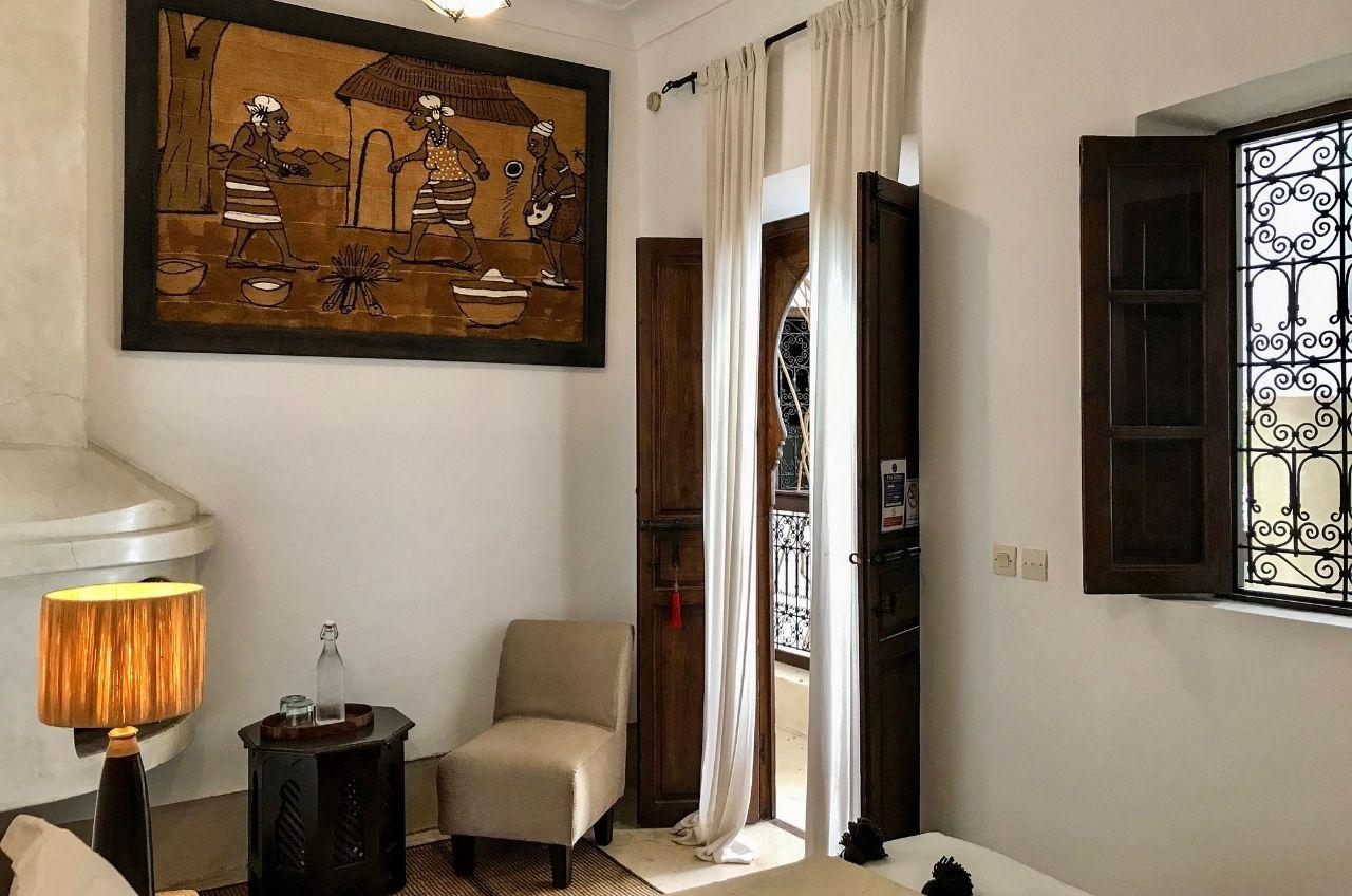 marrakech riad zen bedroom